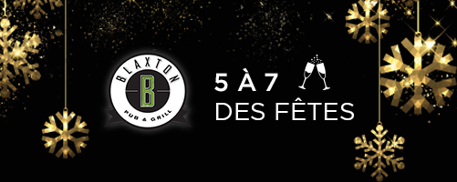 SST de Québec - 5 à 7 des fêtes